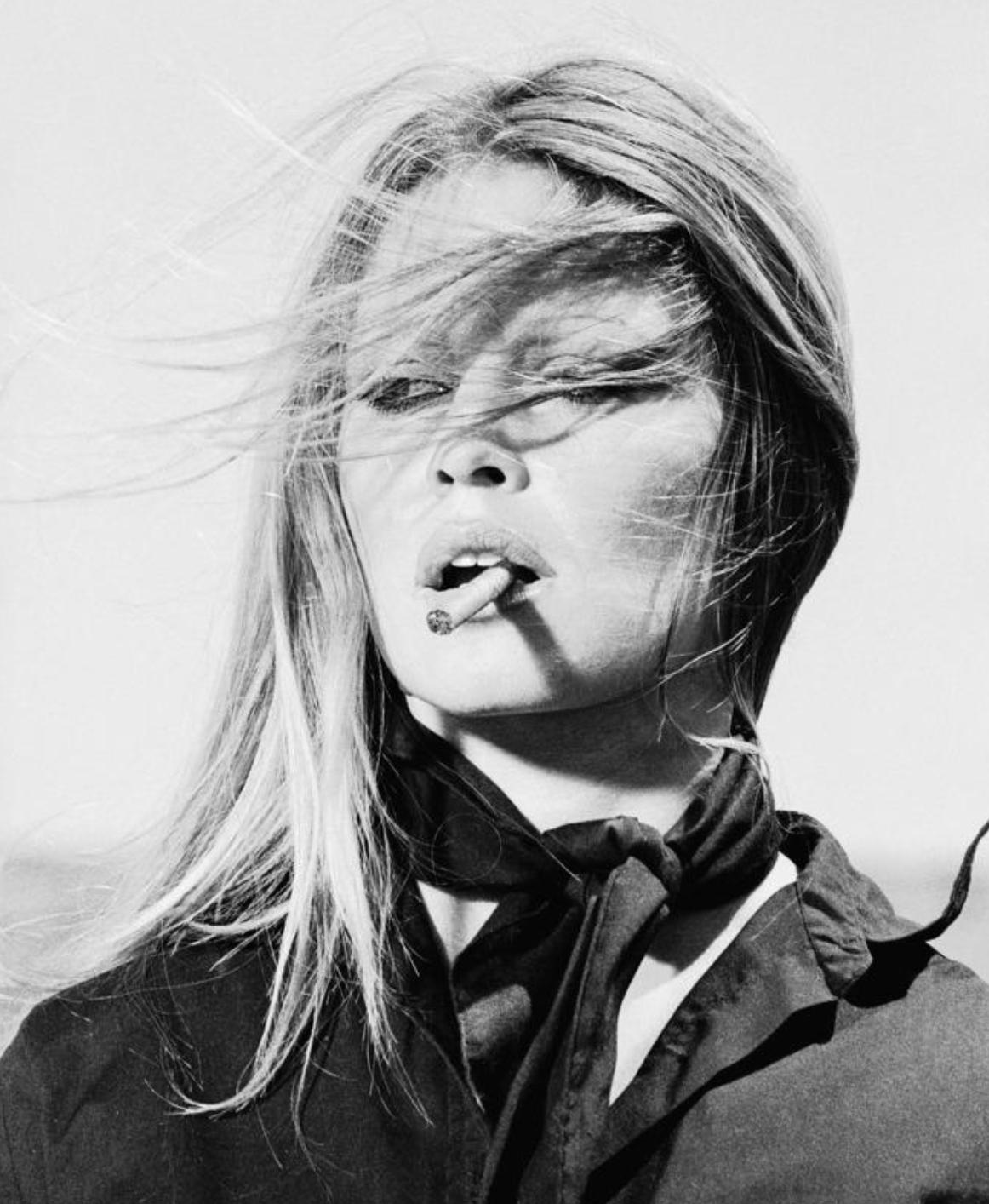 Print of Brigitte Bardot from the set Les Petroleuses (1971)