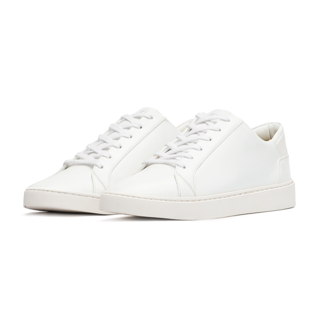 Lace-Up Sneaker White