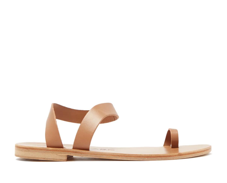 Angela Leather Sandals