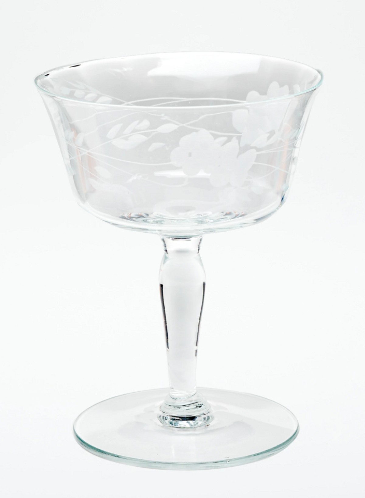 Vintage Champagne Coupes Set of 6