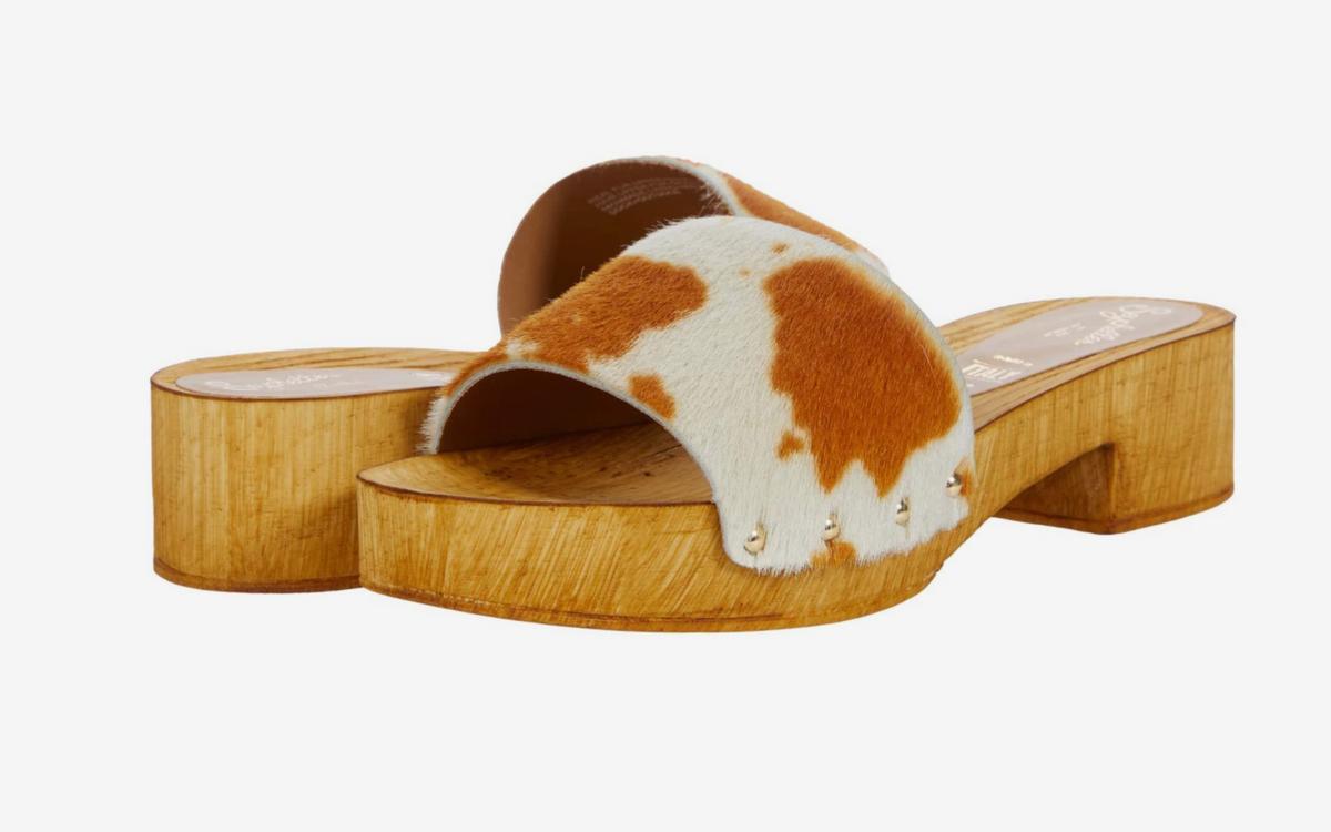 Good Spirits Cow Clog Sandal