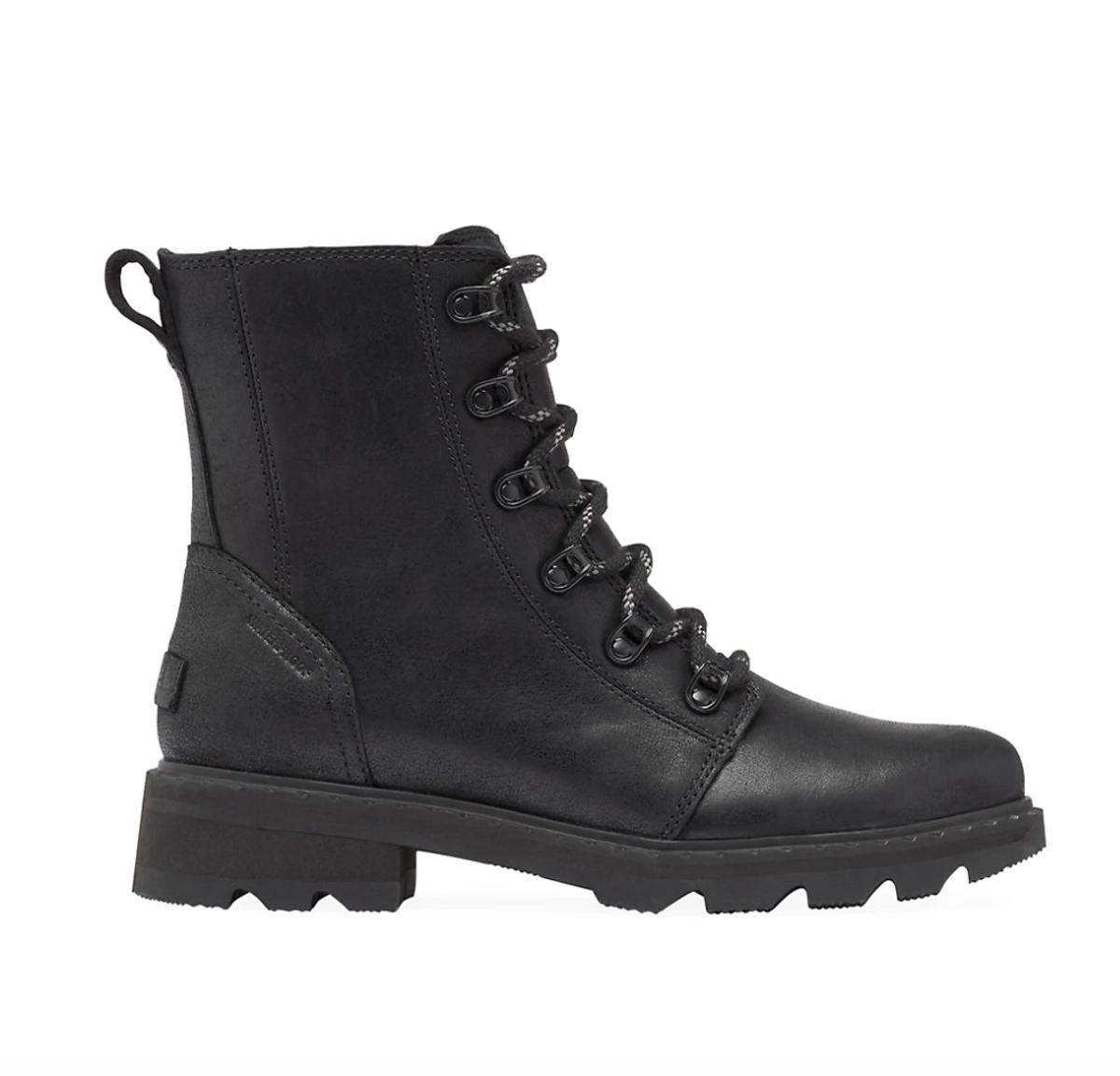 Lennox Leather Combat Boot