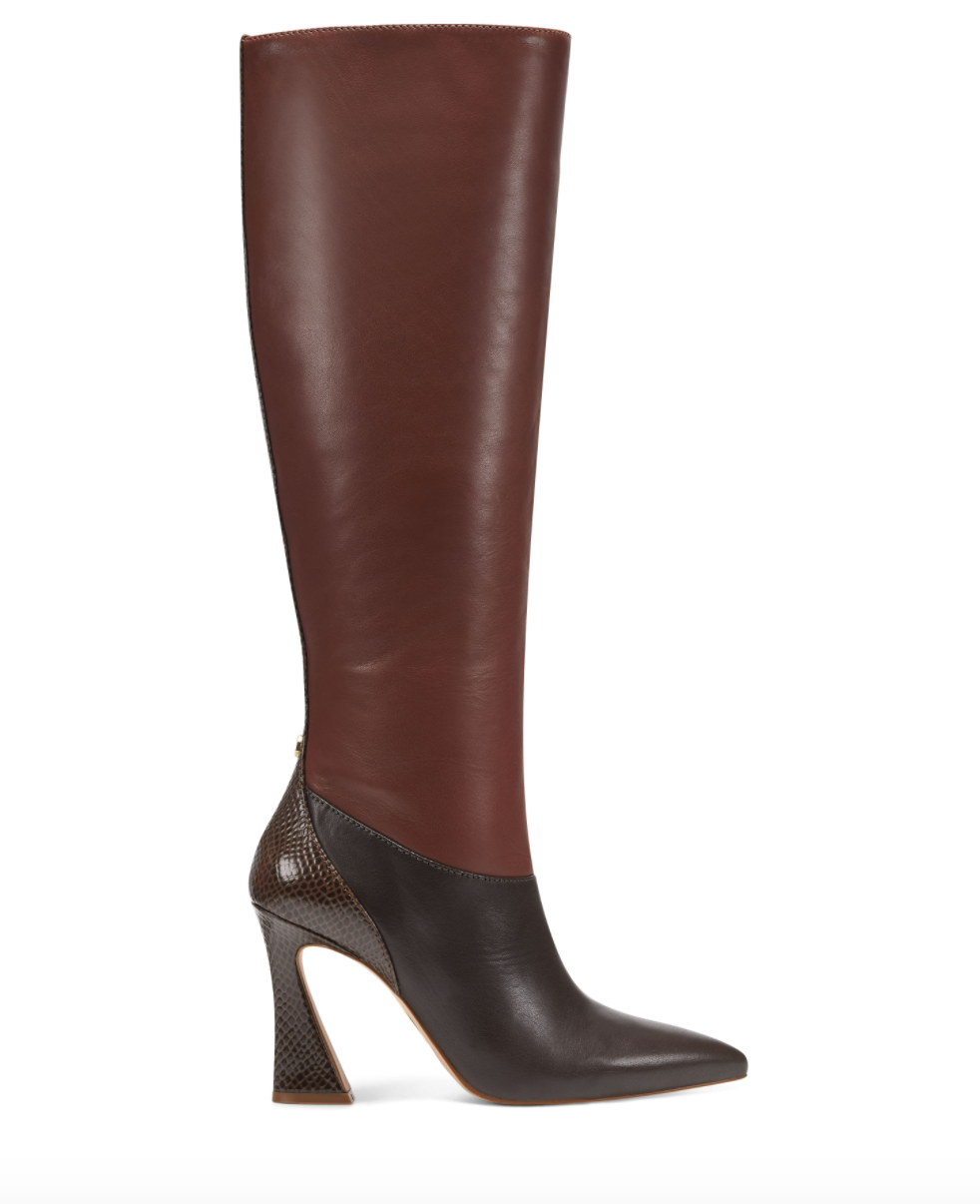 Louise et Cie Mixed-Material Boots
