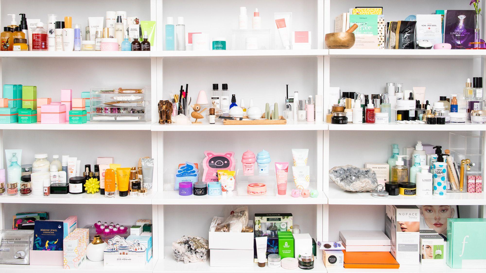 inside alicia yoon beauty closet