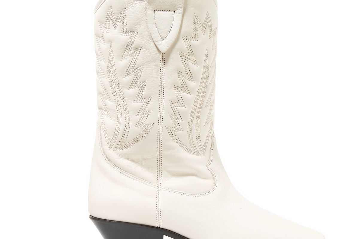 Étoile Dallin Embroidered Leather Boots
