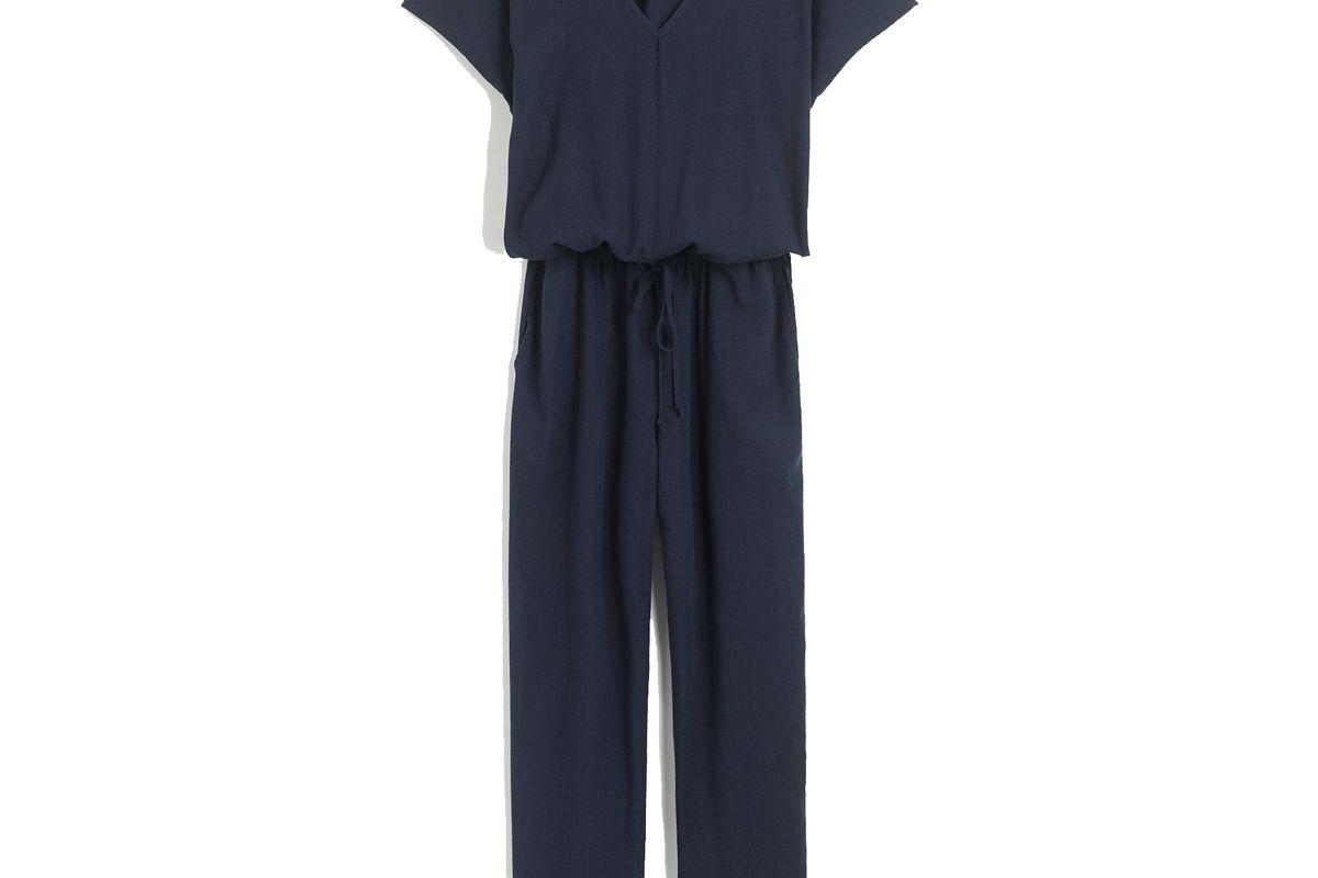 Relaxed Jumpsuit in Tencel-Linen