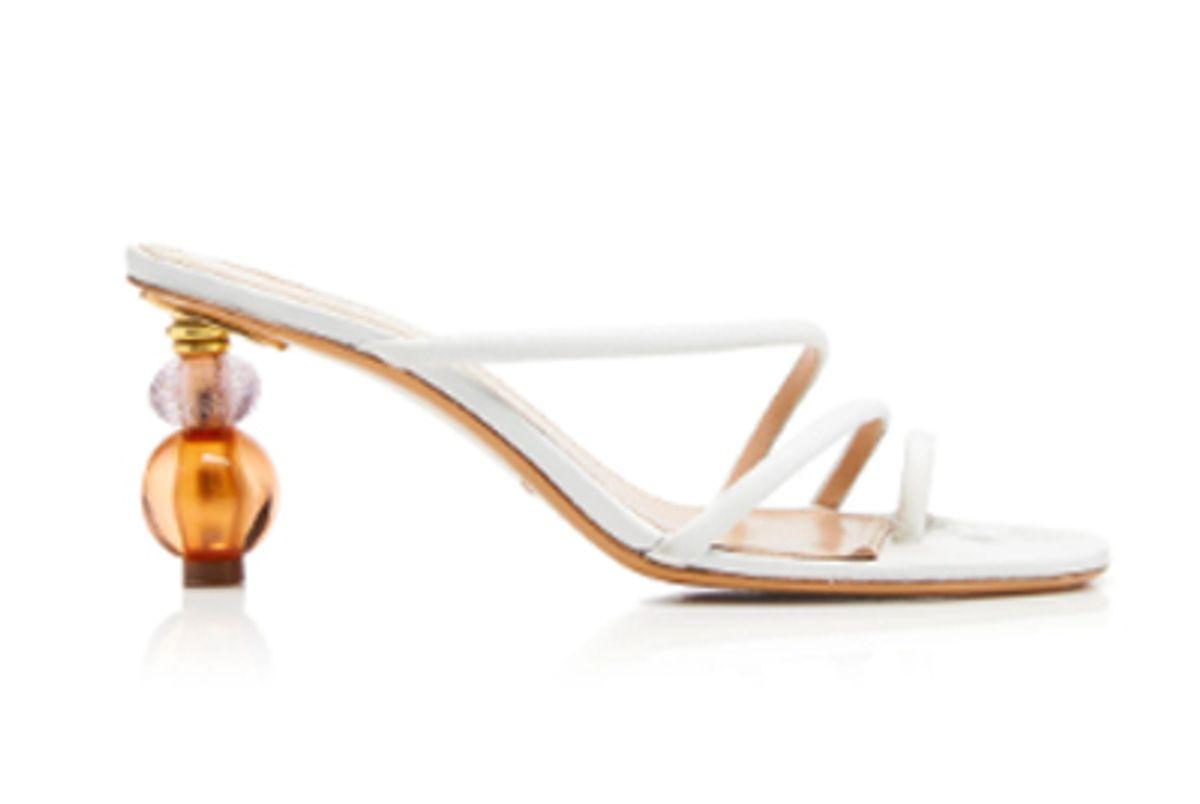 jacquemus noli leather sandals