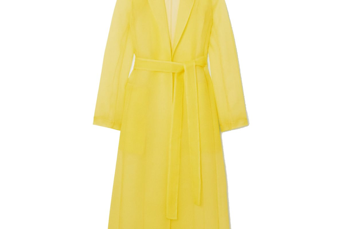 jason wu collection crinkled organza coat