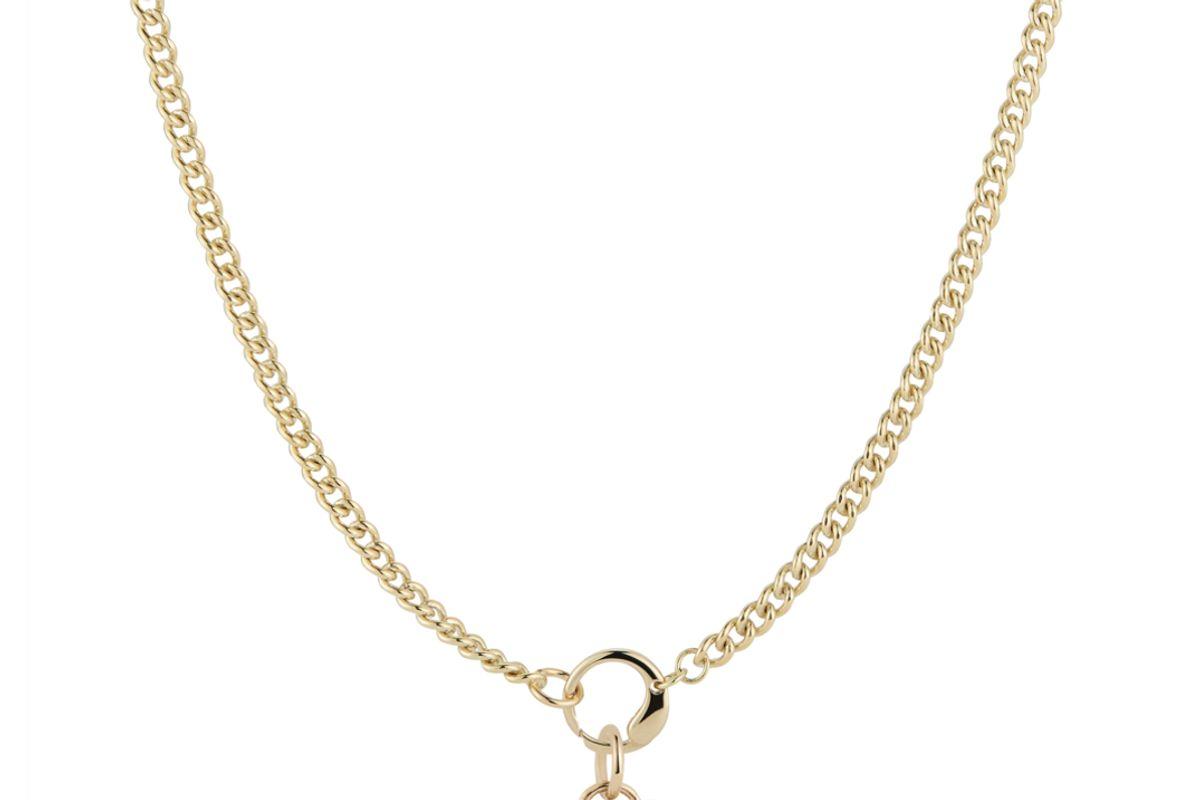 jemma wynne prive pink sapphire heart pendant