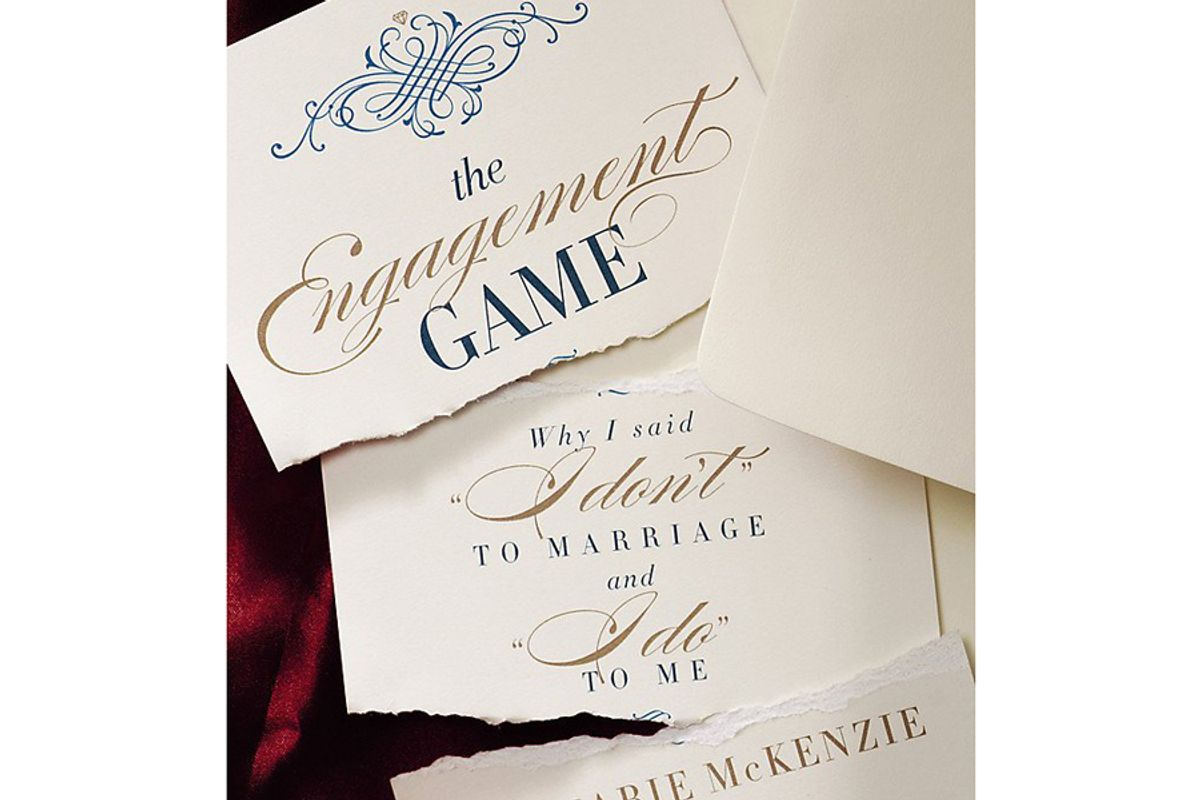 joi marie mckenzie the engagement game why i said i dont to marriage and i do to me
