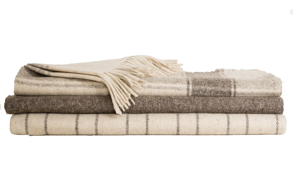 joinery wool throw
