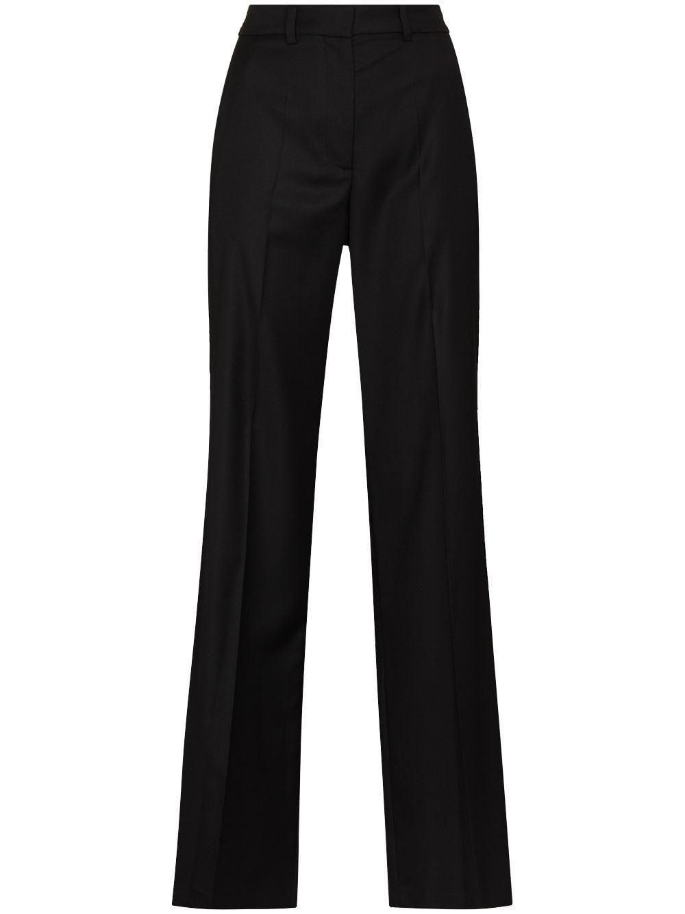 joseph morissey wool tailored trousers