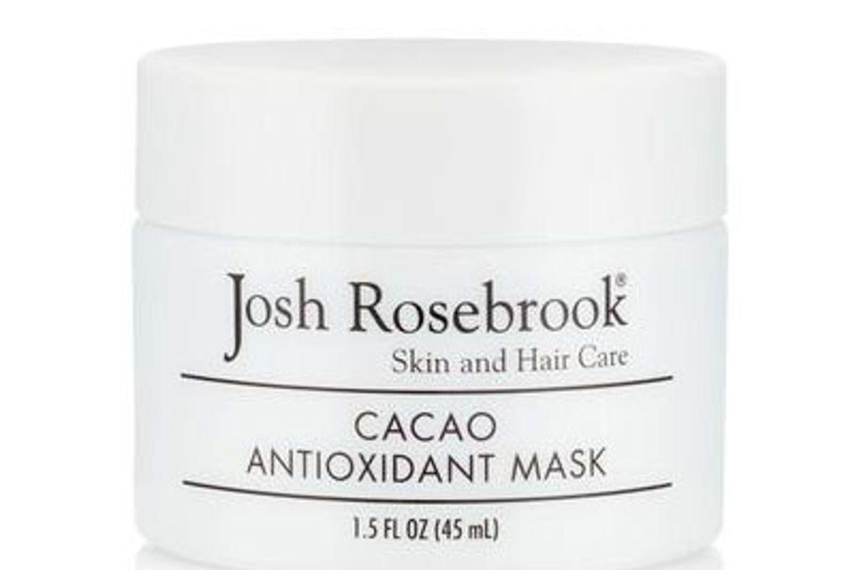 josh rosebrook cacao antioxidant mask