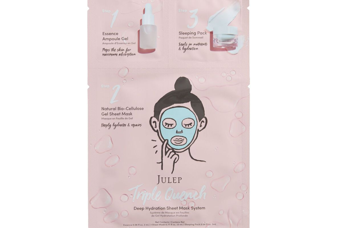 julep triple quench hydration serum