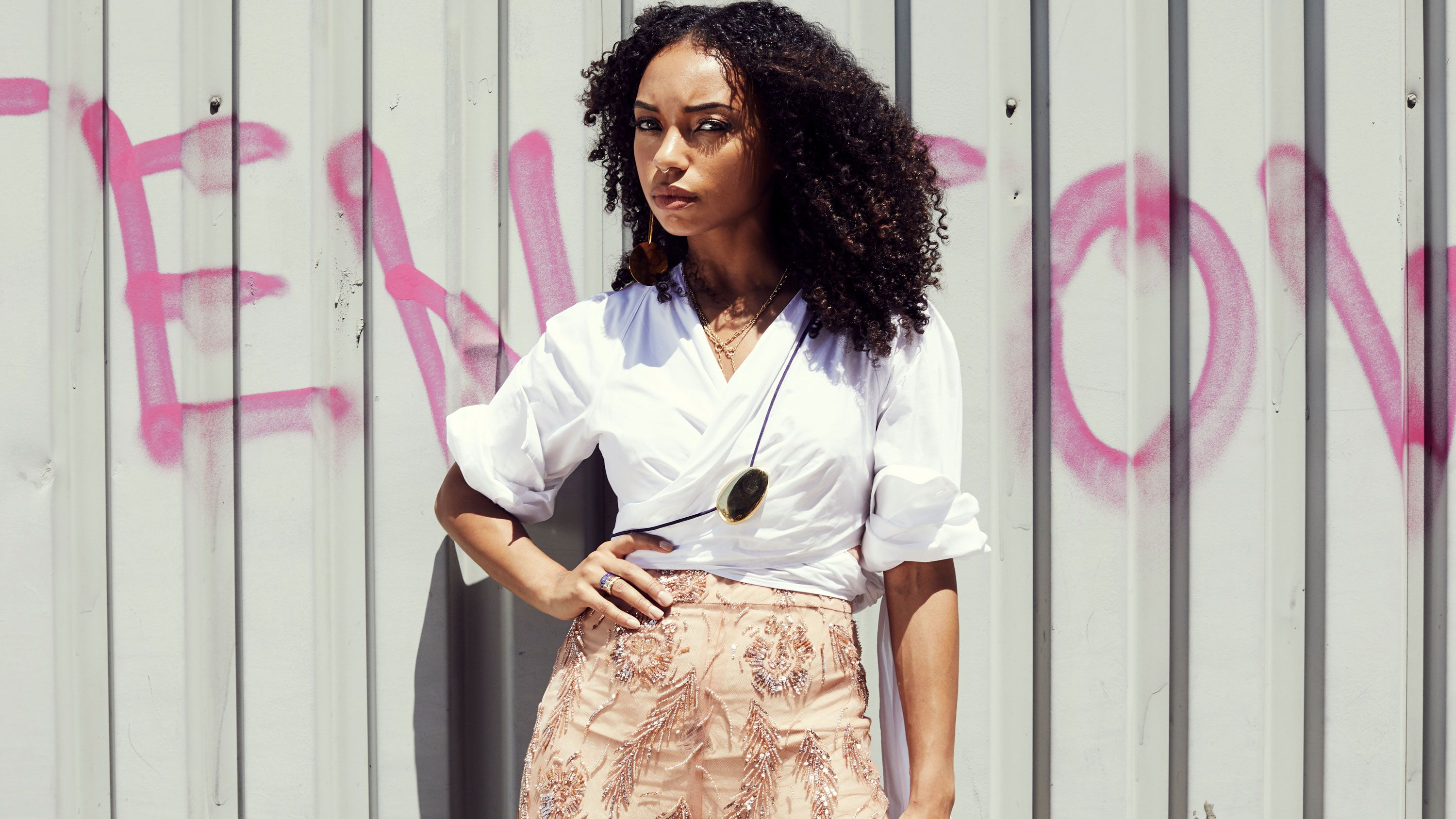 Dear White People's Logan Browning Isn't Just an Actress, She's an Activist