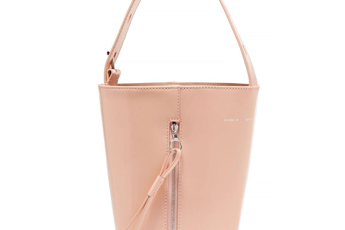 kara panel pail bucket bag