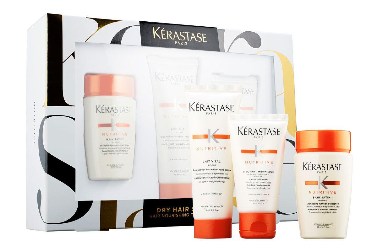 ketrastase dry hair stars hair nourishing travel trio