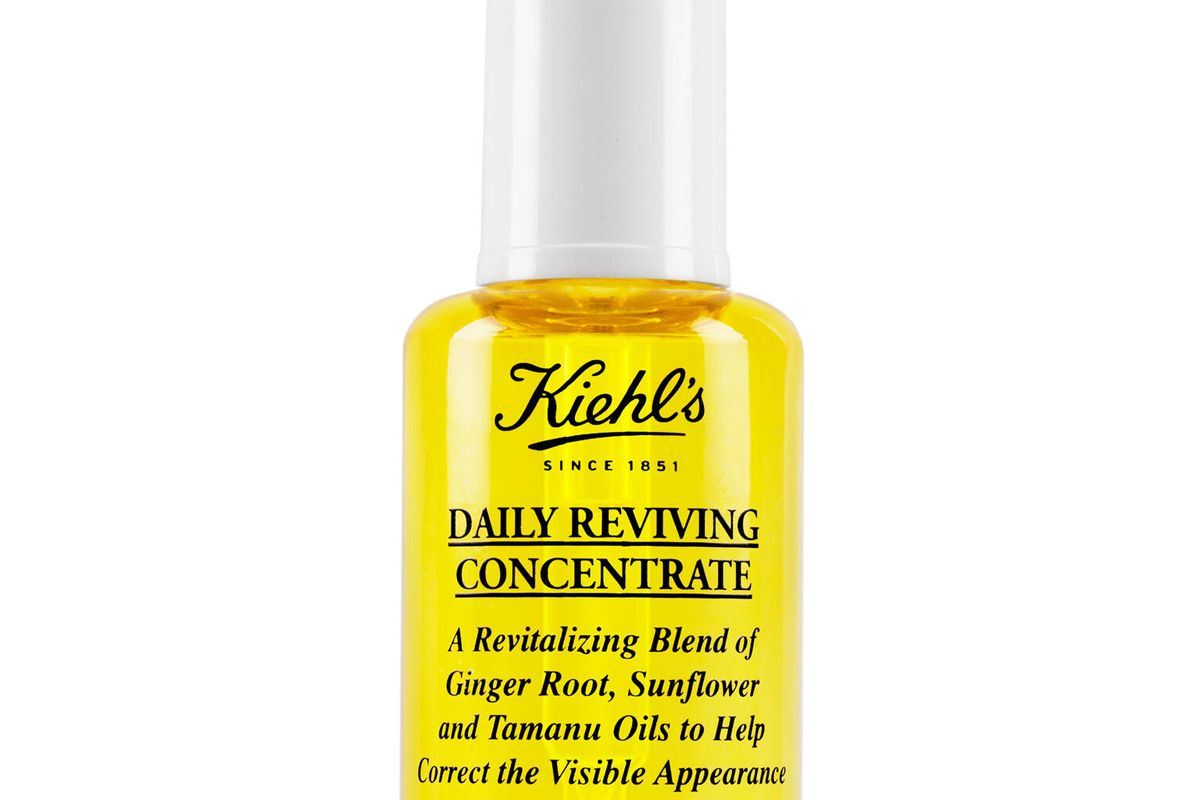 kiehl's daily reviving face oil