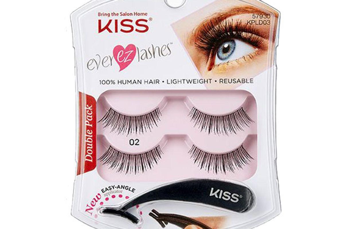 kiss lashes kiss ever ez lash double pack