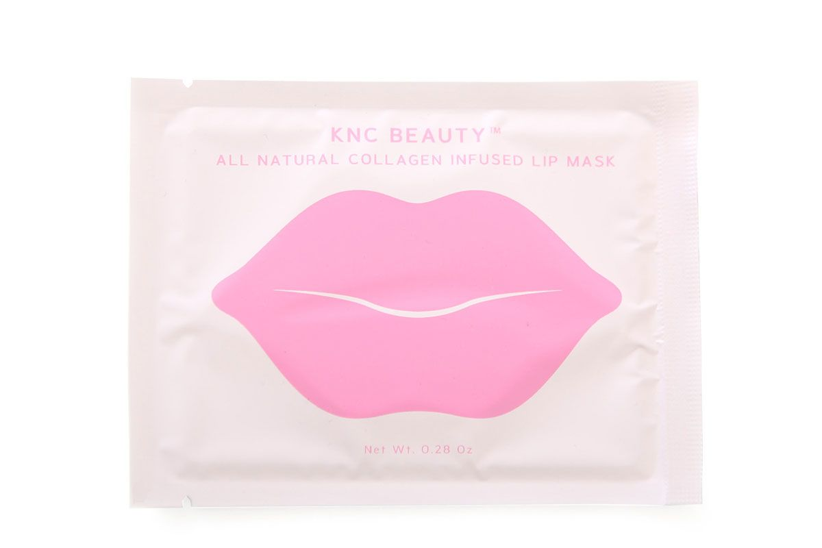 knc beauty all natural collagen infused lip mask