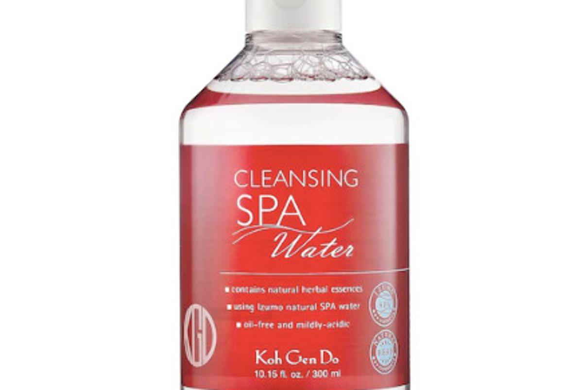 koh gen do cleansing spa water
