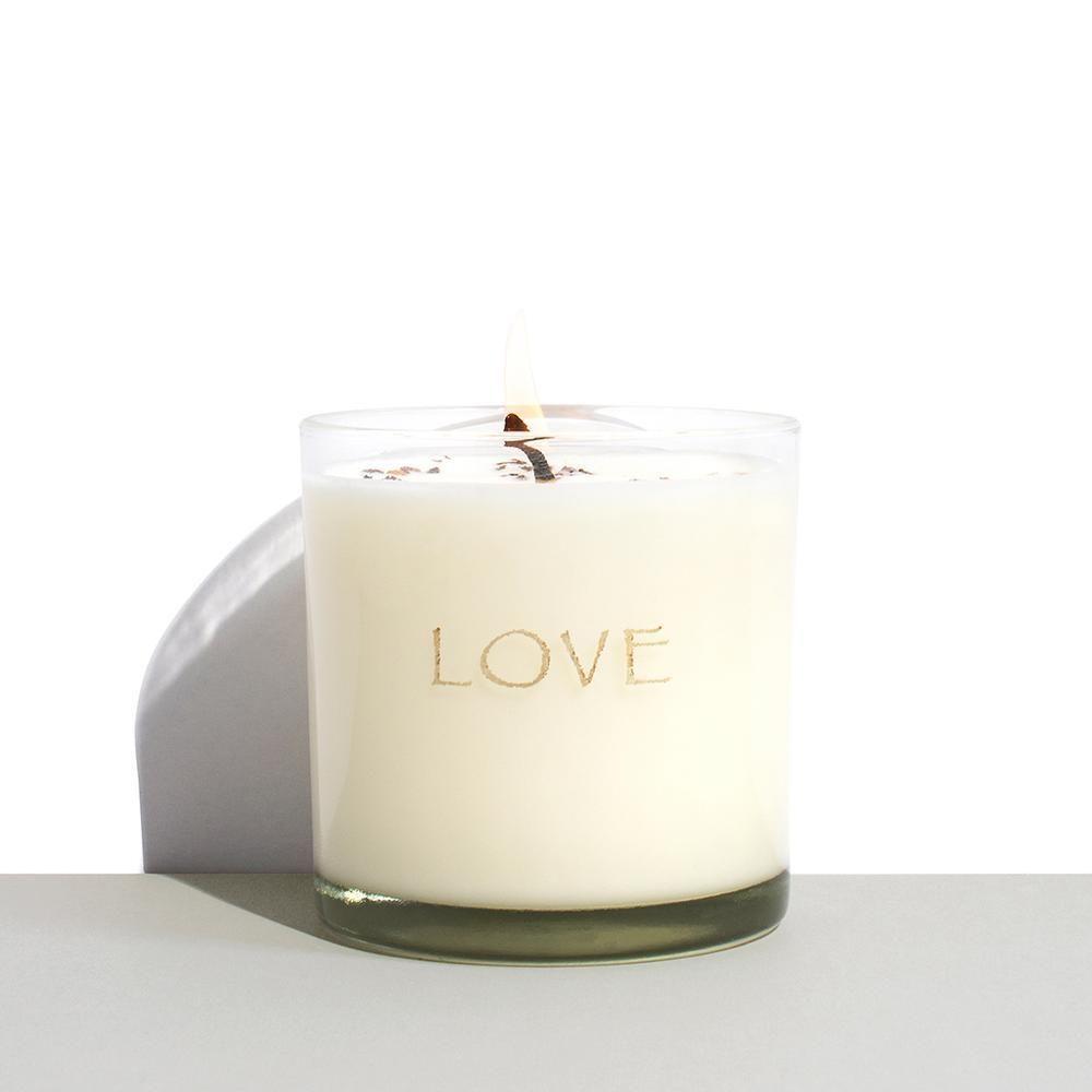 kora organics love candle
