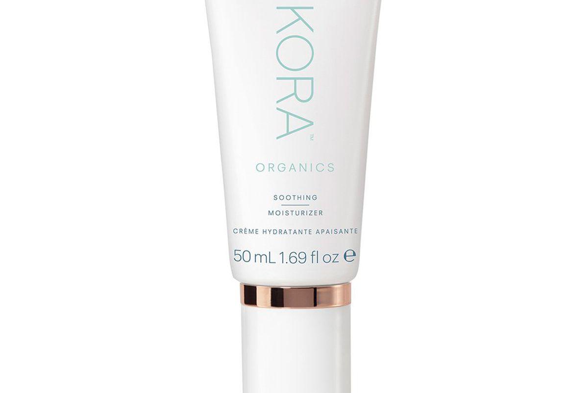 kora organics soothing moisturizer