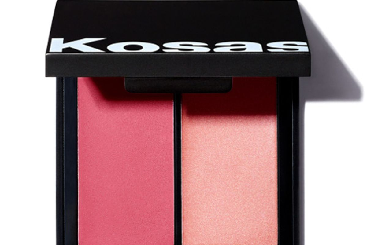 kosas color and light creme cream blush and highlighter duo
