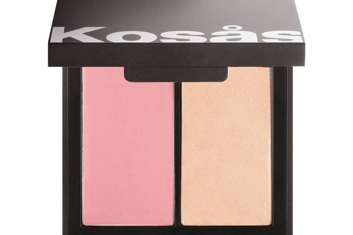 kosas color light cream blush highlighter duo