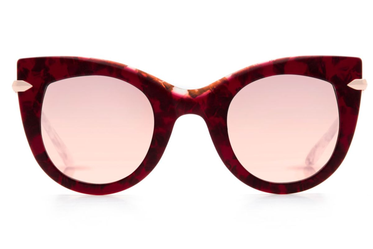 Laveau Sunglasses in Matte Calypso Rose Gold