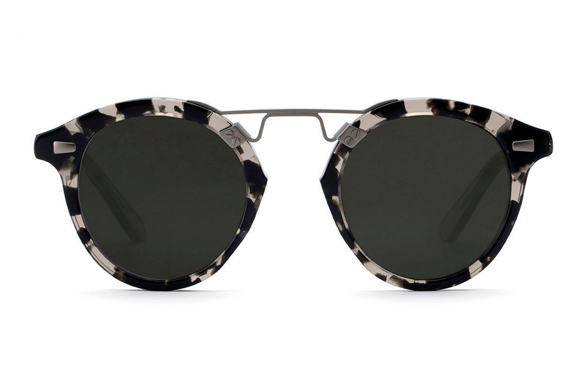 krewe stl ii round gradient sunglasses