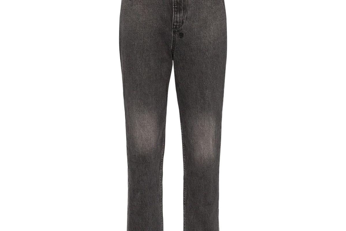 ksubi high waisted cropped jeans