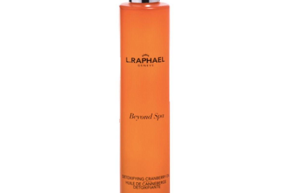 l.raphael detoxifying cranberry oil