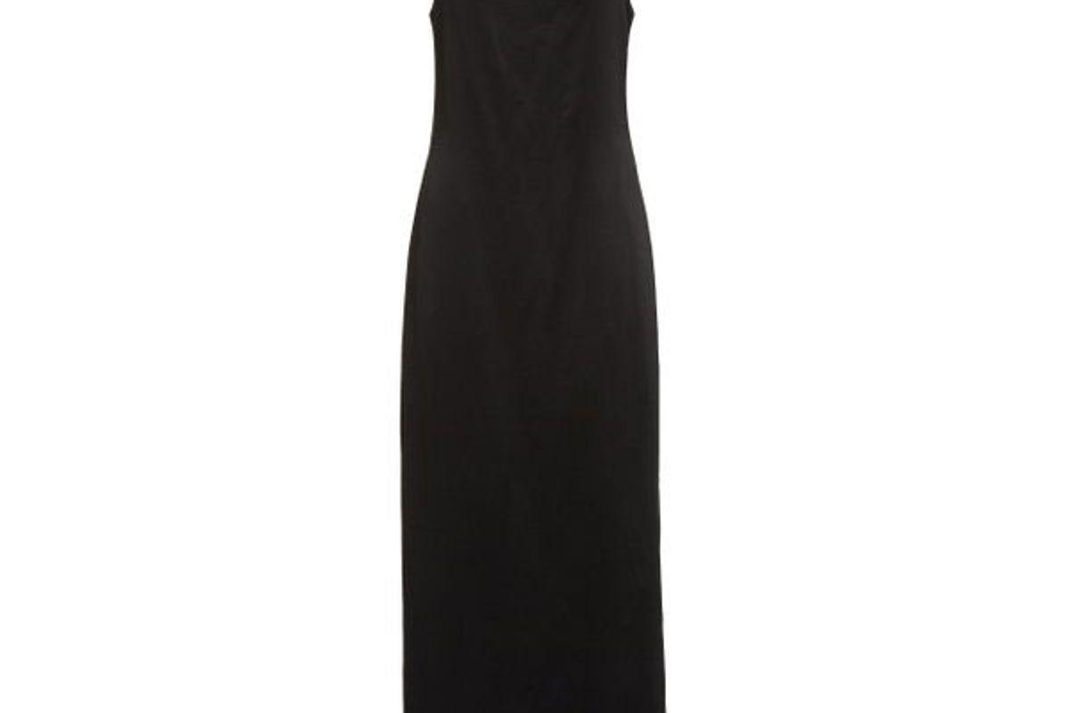 la collection gwyneth silk midi dress