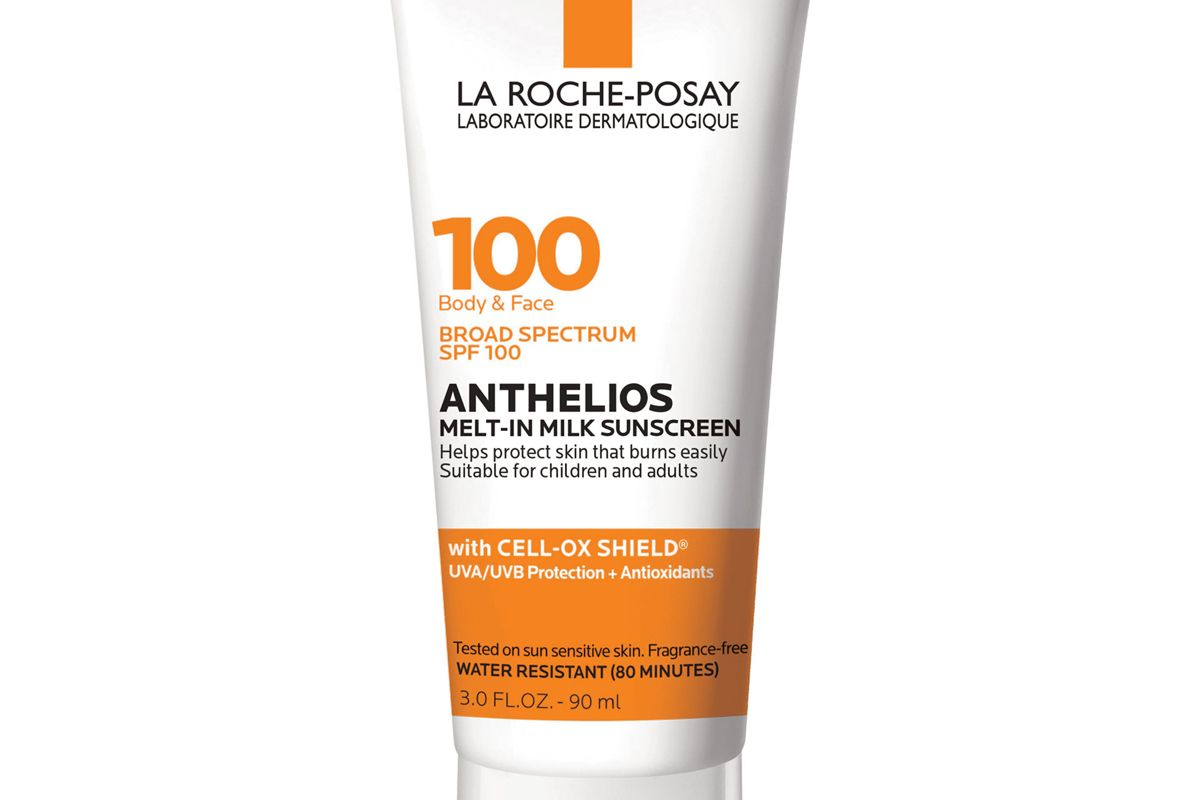 la roche posay anthelios melt in sunscreen for face and body spf 100
