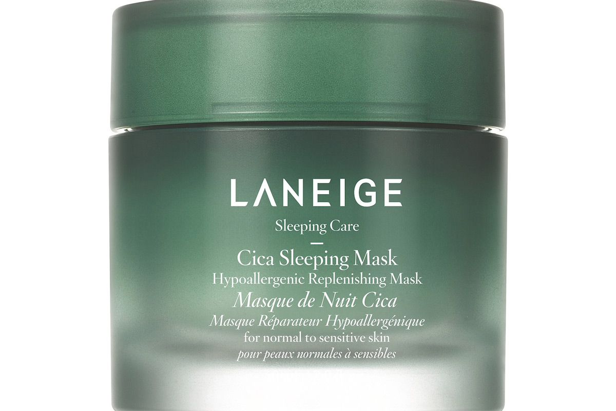 laneige hypoallergenic cica sleeping mask