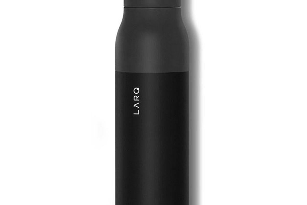 larq self-cleaning bottle