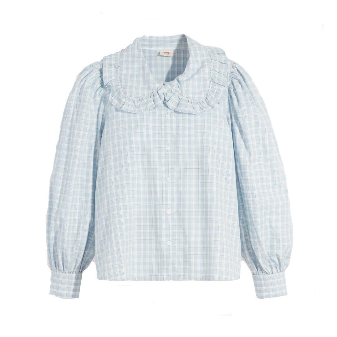 levi emilie button up blouse