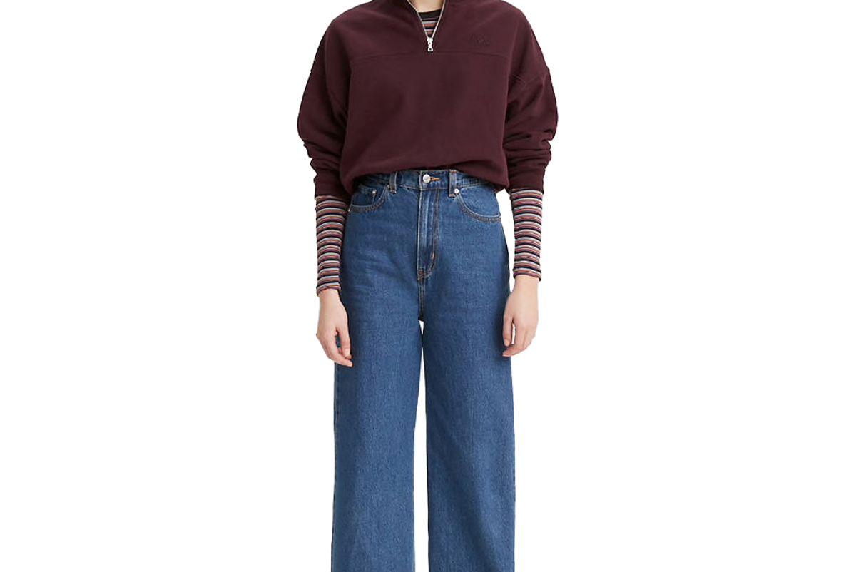 levi's premium high loose cottonized hemp womens jeans