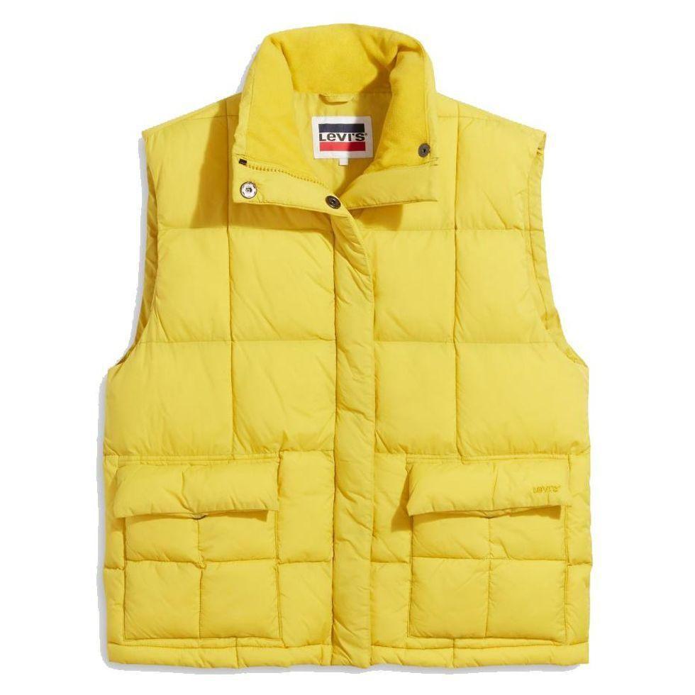 levis romy puffer vest