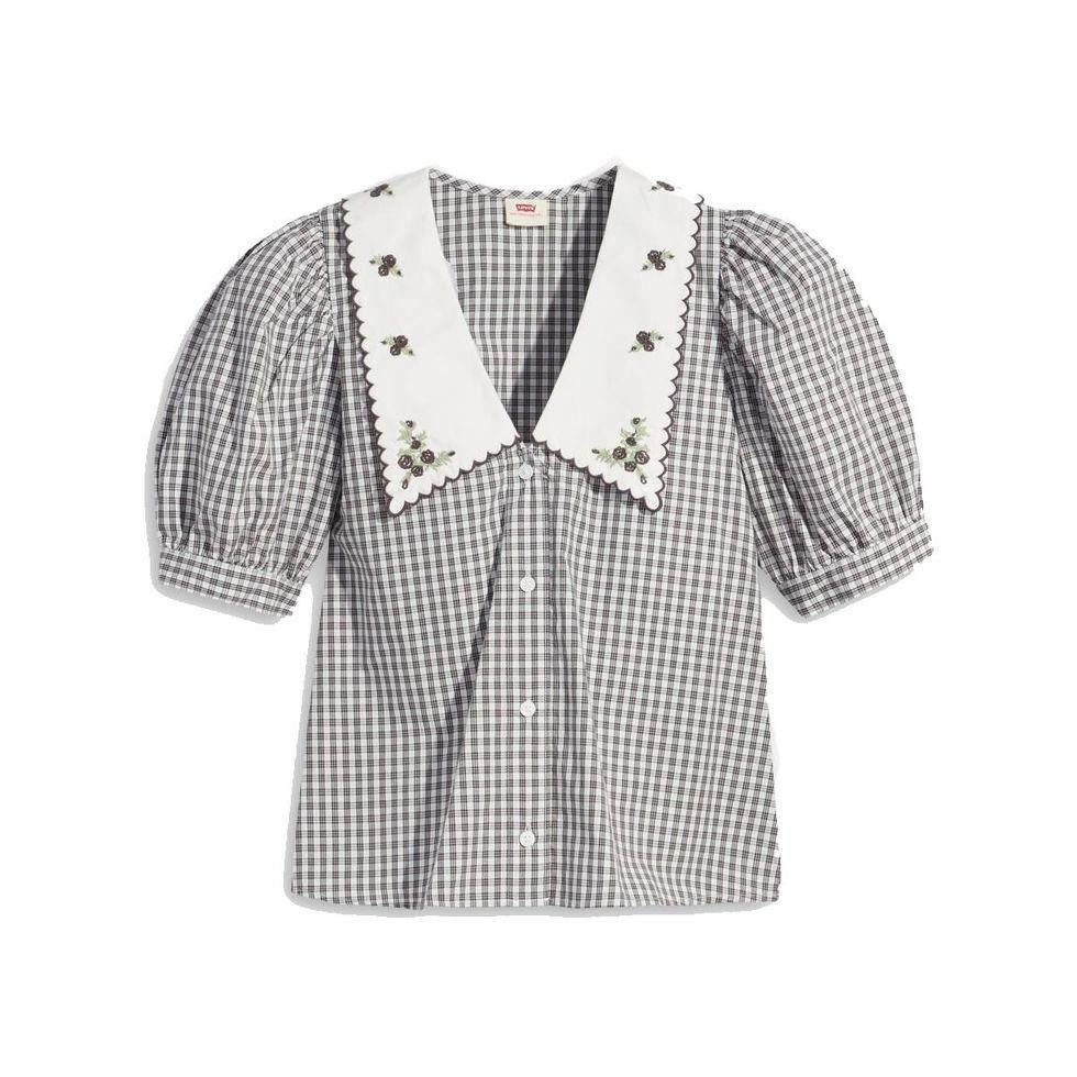 levis royce button up blouse