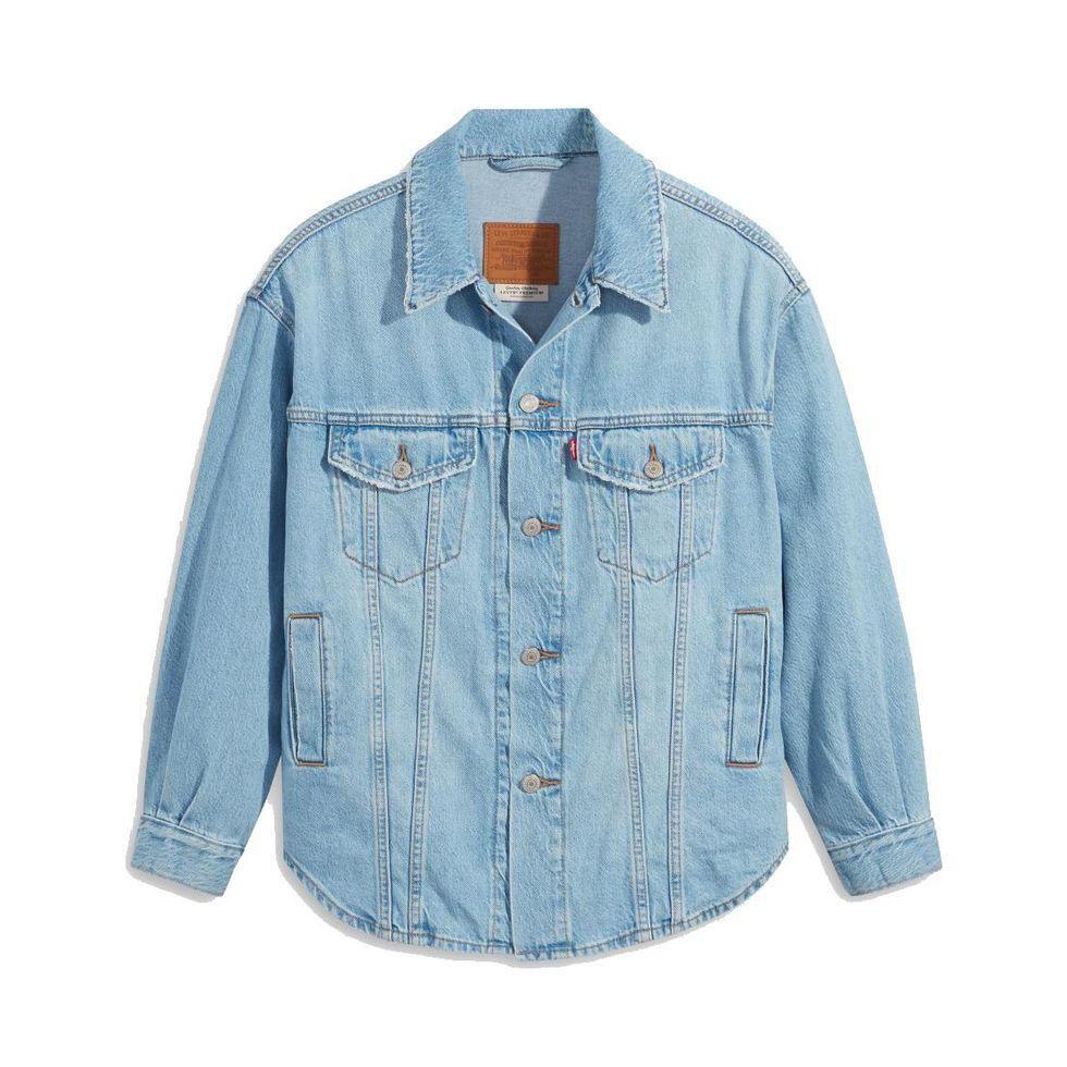 levis shacket trucker jacket