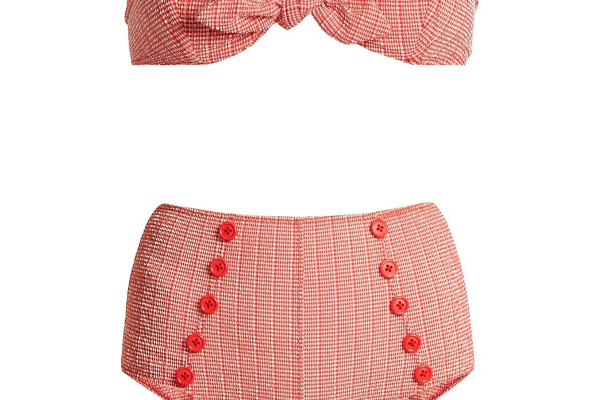 Poppy Striped Bikini