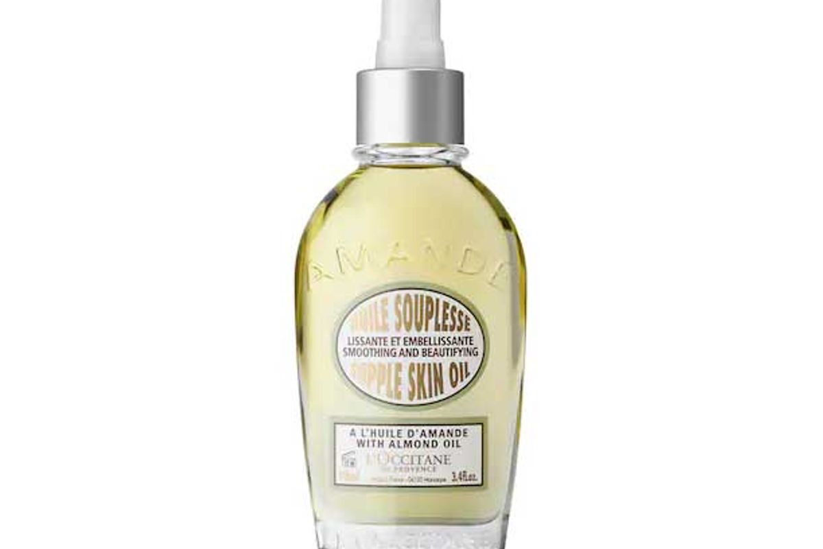 loccitane almond smoothing and beautifying supple skin oil