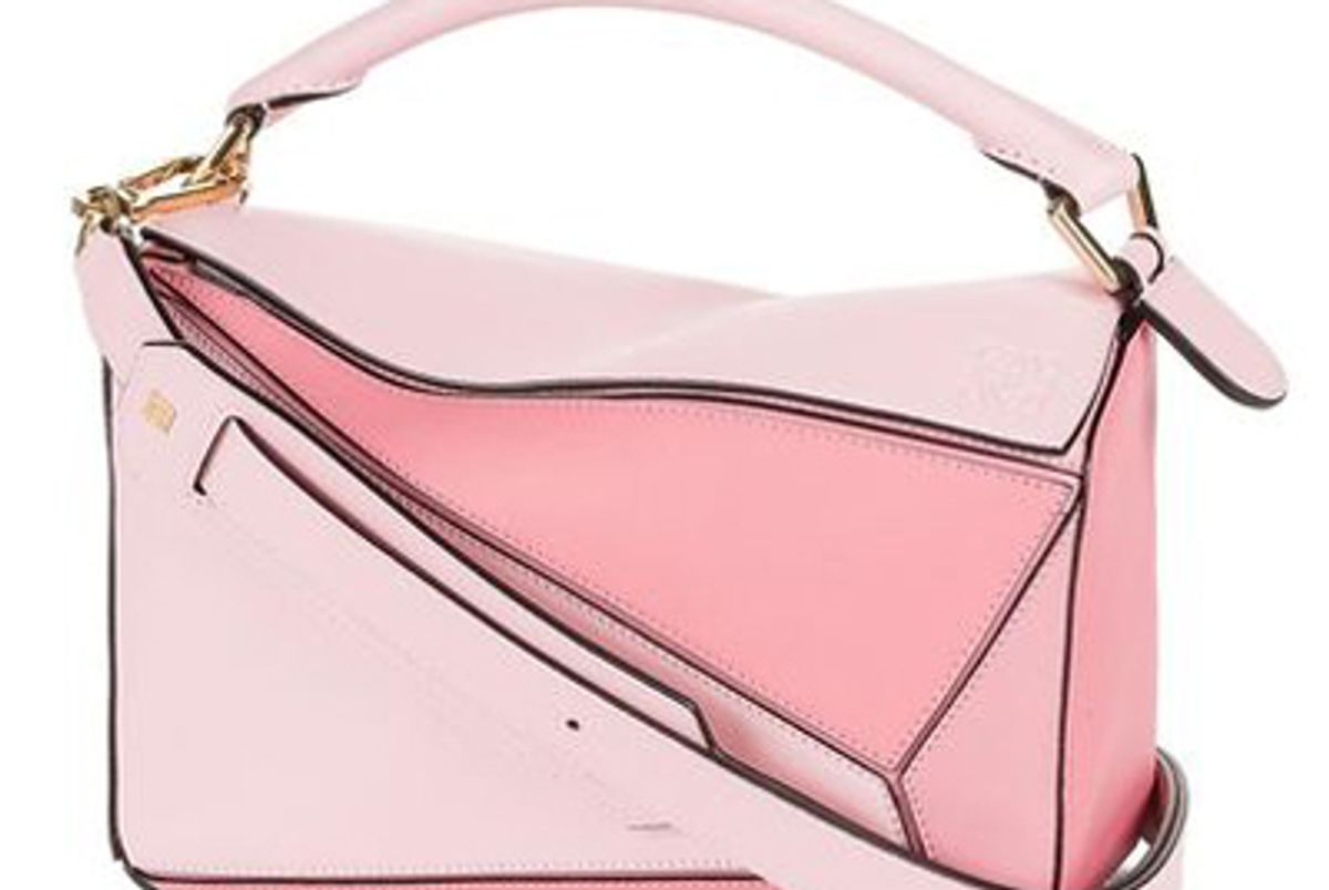 Puzzle Small Bag in Soft Pink/Candy/Dark Pink
