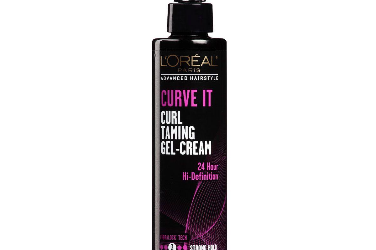 l'oreal curve it curl taming cream