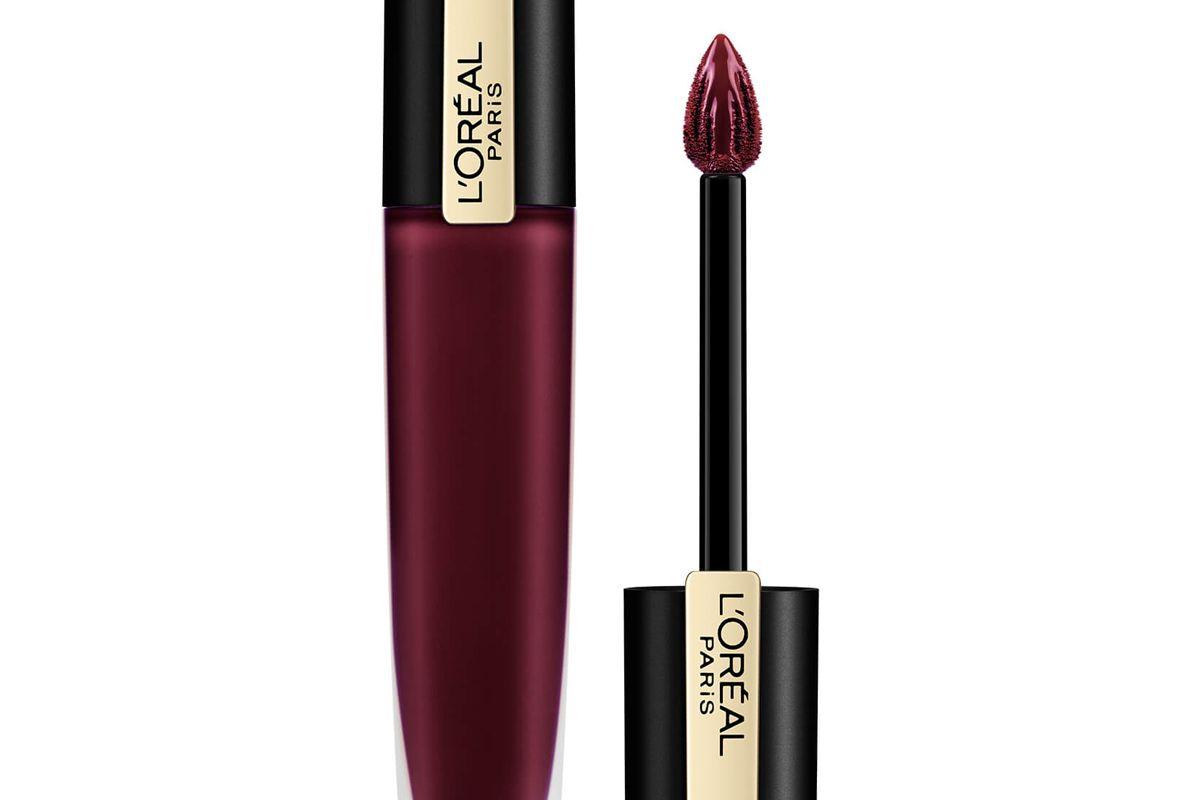 l'oreal paris rouge signature metallic liquid lipstick 7ml