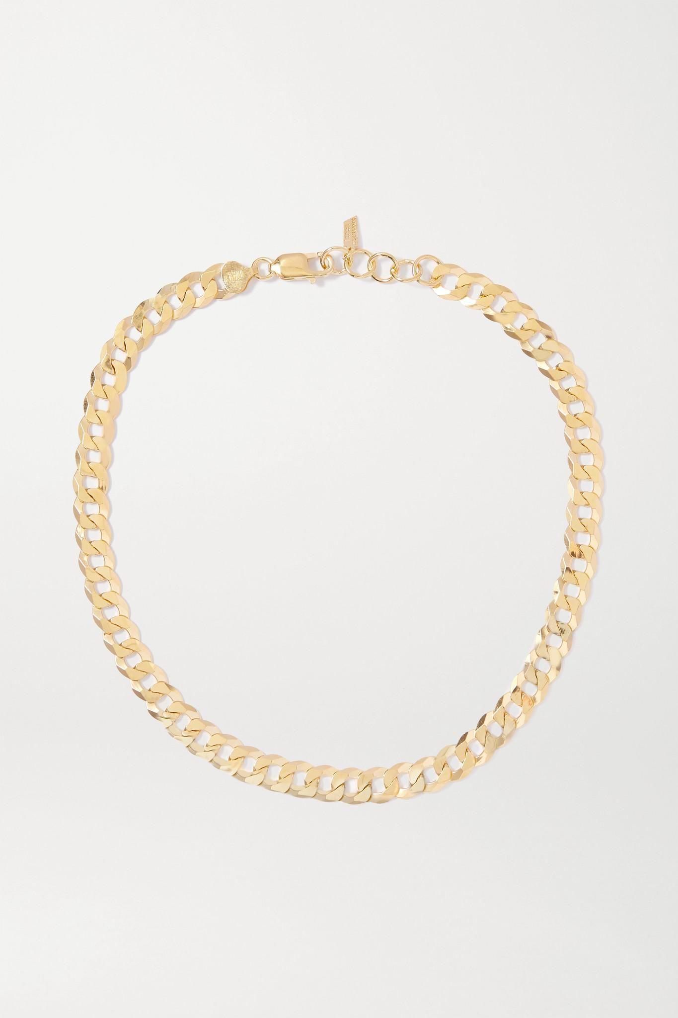loren stewart and net sustain gold vermeil necklace