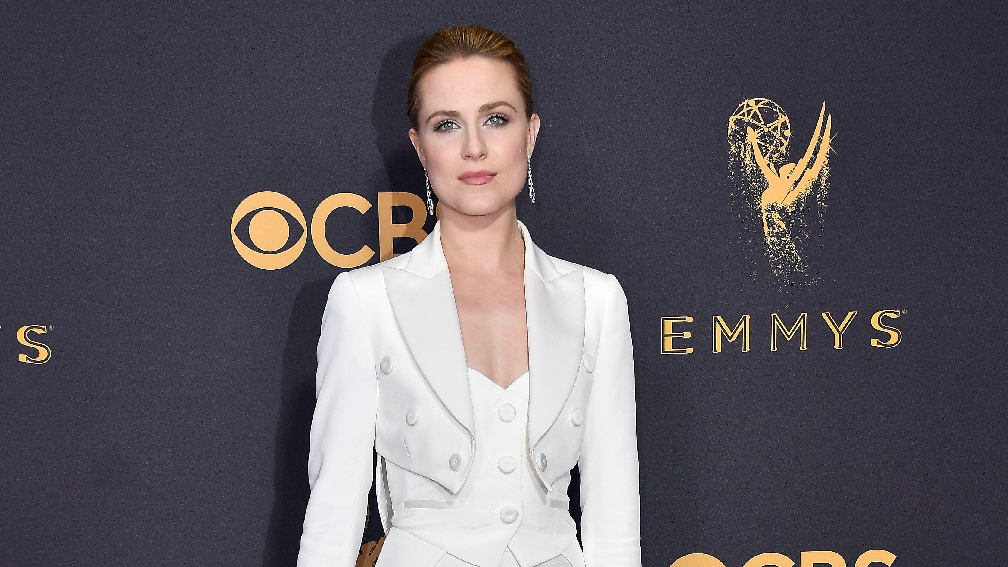 Evan Rachel Wood's Emmys Suit Might Hold a Secret Message