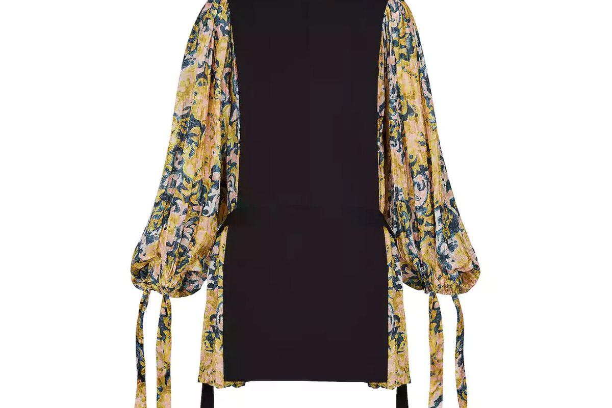 louis vuitton flowy sleeve dress